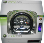 Xbox 360 Genuine Wireless Steering Wheel + PGR3 Bundle for Xbox 360