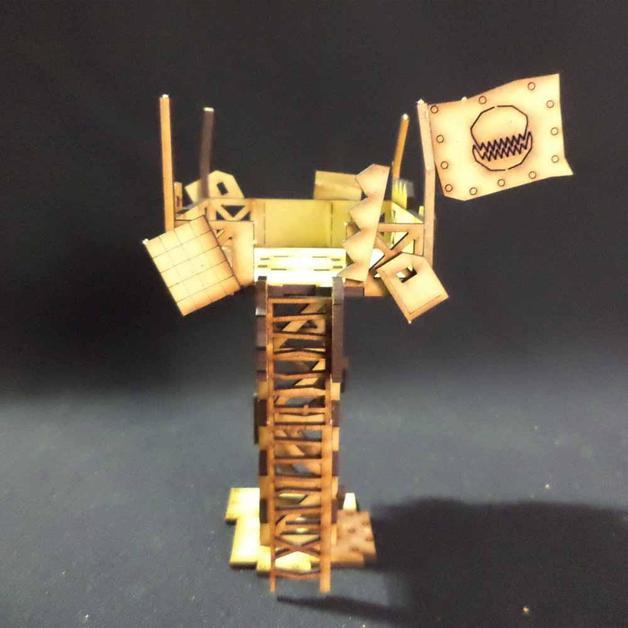 TTCombat: Tabletop Scenics - Orc Watchtower