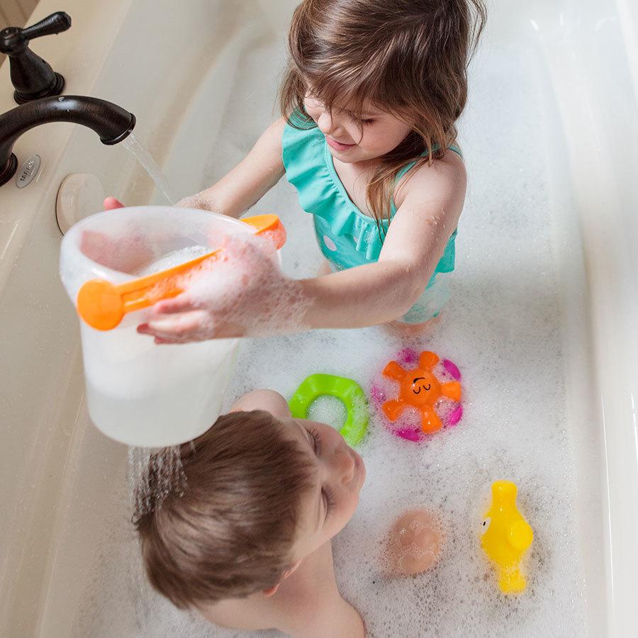 Fat Brain Toys: Pail Pals - Bath Toy Set image