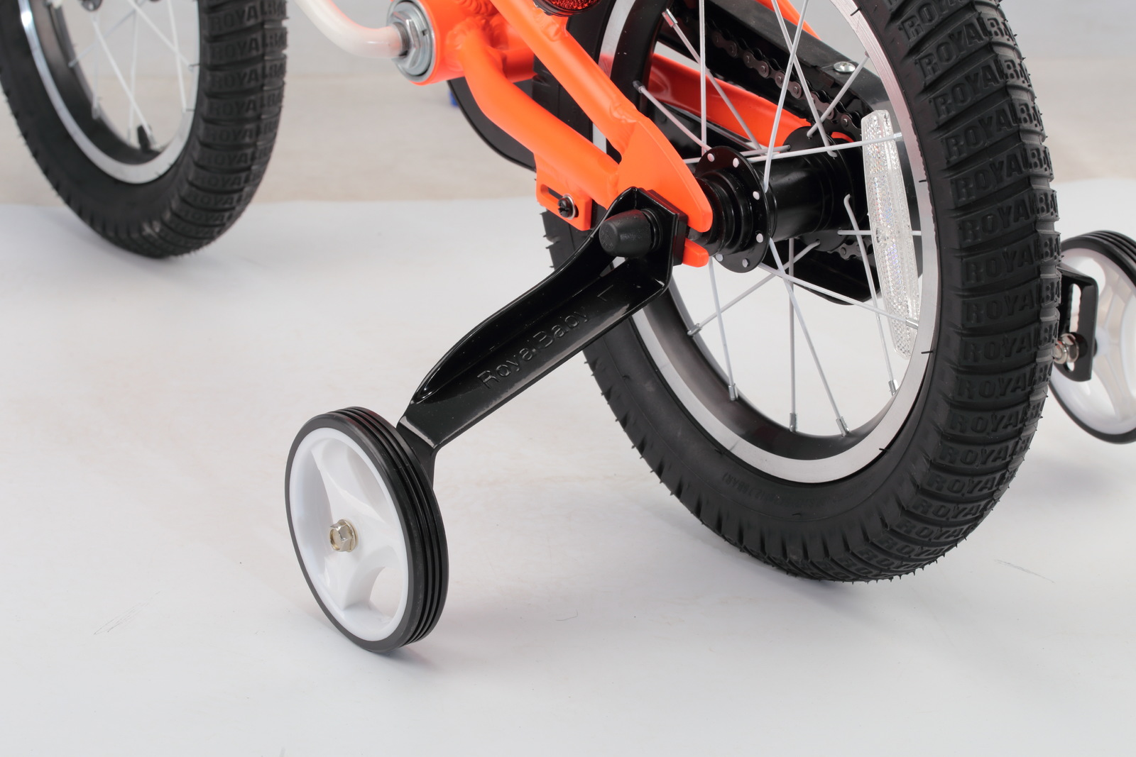"RoyalBaby: Space No.1 RB-17 - 14"" Alloy Bike (Orange) image"