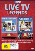 Live TV Legends on DVD