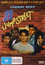 21 Jump Street - Complete Season 1 (4 Disc Set) on DVD