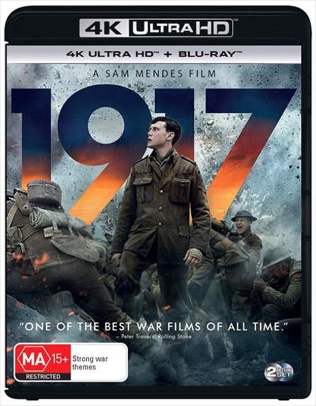 1917 (4K Ultra HD Blu-ray) on UHD Blu-ray