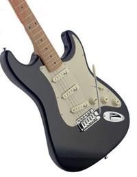 Stagg Vintage Electric Guitar (Black)