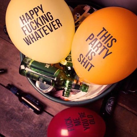 Abusive Balloons image
