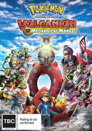 Pokemon: The Movie - Volcanion And The Mechanical Marvel DVD