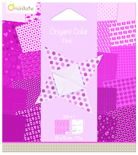 Origami Paper 120x120 - Pink Star