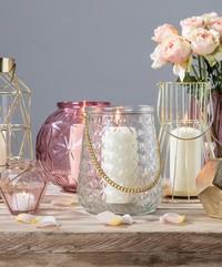Rose Round Lanterns image