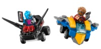 LEGO Super Heroes: Mighty Micros - Star-Lord vs. Nebula (76090) image