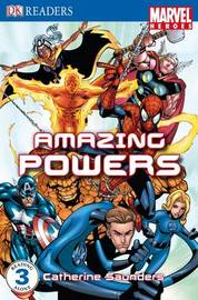 """Marvel Heroes"" Amazing Powers: Level 3 by Catherine Saunders image"