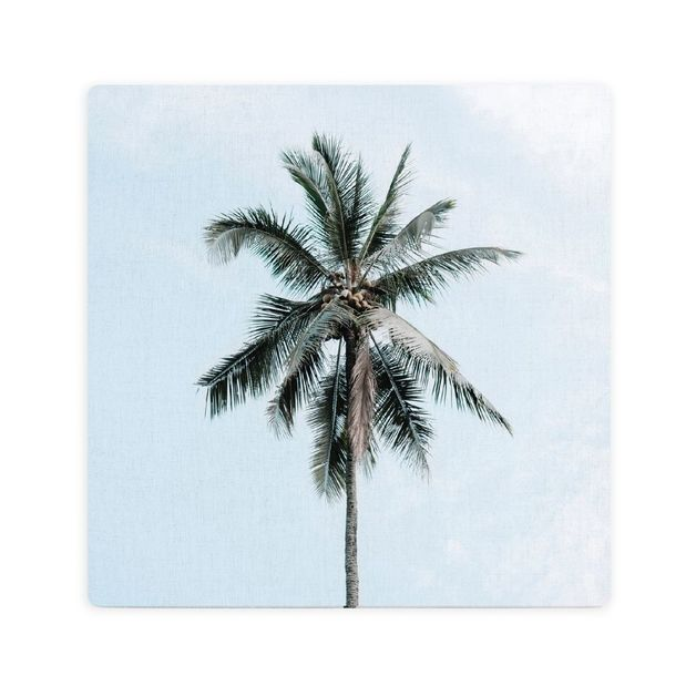 Splosh: Tranquil Palm Ceramic Coaster