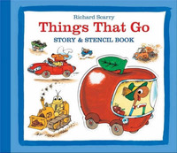 Things That Go Stencil Book by Richard Scarry image