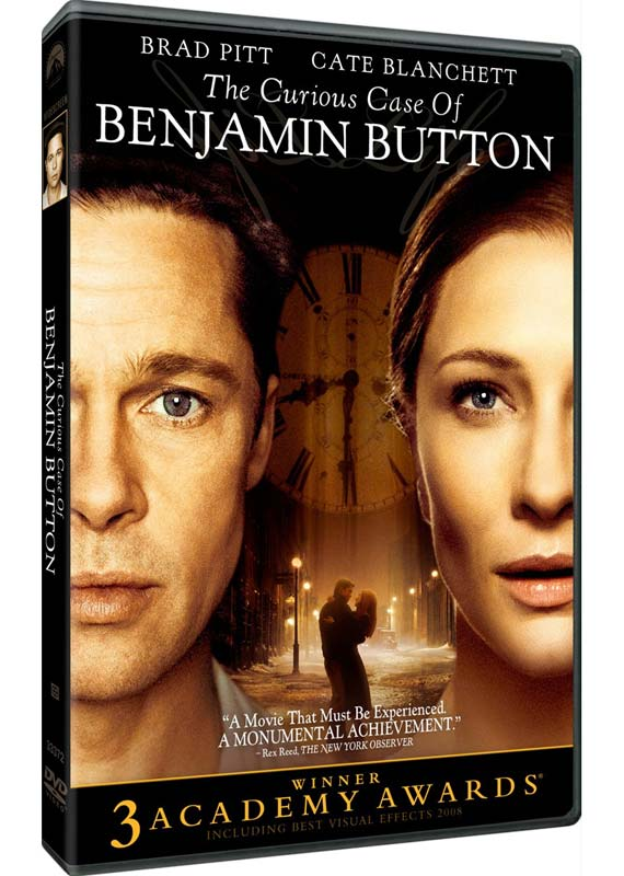 The Curious Case of Benjamin Button - Special Edition (2 Disc Set) on DVD image