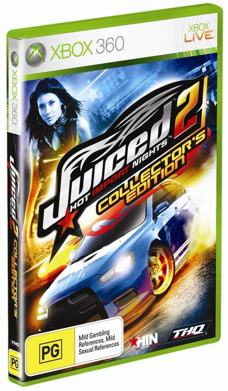 Juiced 2: Hot Import Nights: Collector's Edition for Xbox 360