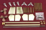 Running Hardware Kit for American Beauty Tow Boat #1215