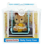 Sylvanian Families: Family Life Baby Blue Carry Case - Walnut Squirrel Baby