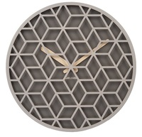 Karlsson: Discrete Wall Clock - Grey