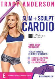 Tracy Anderson Slim + Sculpt Cardio (With Band) on DVD