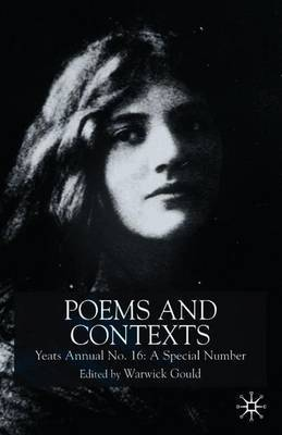 Poems and Contexts: Annual 16