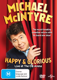 Michael Mcintyre - Happy & Glorious on DVD