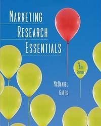 Marketing Research Essentials by Carl McDaniel