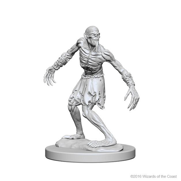 D&D Nolzur's Marvelous: Unpainted Minis - Ghouls
