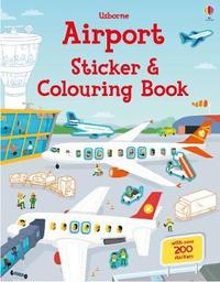 Airport Sticker and Colouring Book by Simon Tudhope image