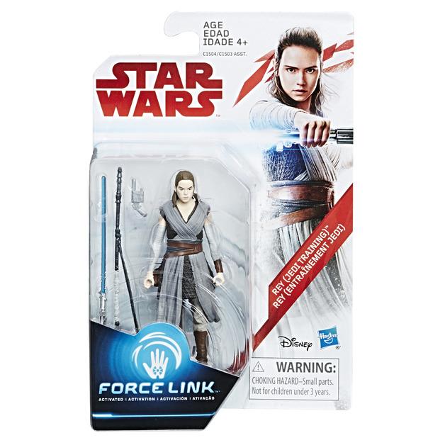 Star Wars: Force Link Figure - Rey (Jedi Training)
