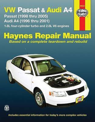 Audi A4 & VW Passat 96-05 by Haynes Publishing image