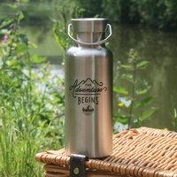 Gentlemen's Hardware Water Bottle Stainless Steel 500ml