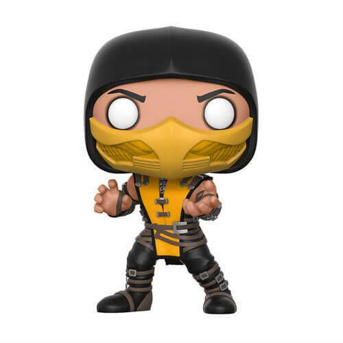Mortal Kombat - Scorpion Pop! Vinyl Figure