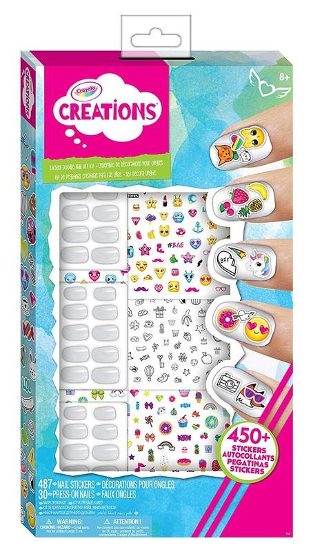 Crayola: Creations - Sticker Nail Art