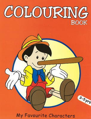 My Favourite Characters Coloring Book by Pegasus image