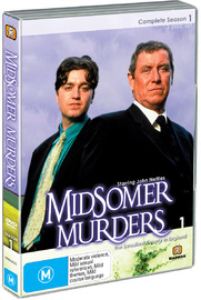 Midsomer Murders - Complete Season 1 (Single Case ) on DVD