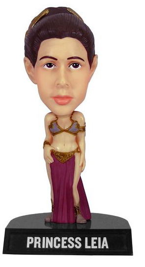 Star Wars Slave Princess Leia Bobble Head image