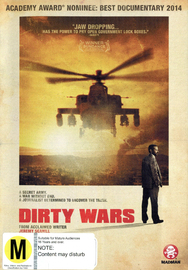 Dirty Wars on DVD
