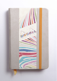 Rhodiarama A6 Webnotebook Lined (Beige)
