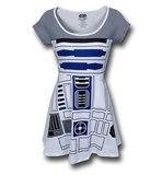 Star Wars R2-D2 Skater Dress (Large)