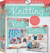 Knitting Book and DVD (Demand Media) by Clare Davis