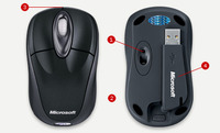 Microsoft Wireless Notebook Optical Mouse 3000 image