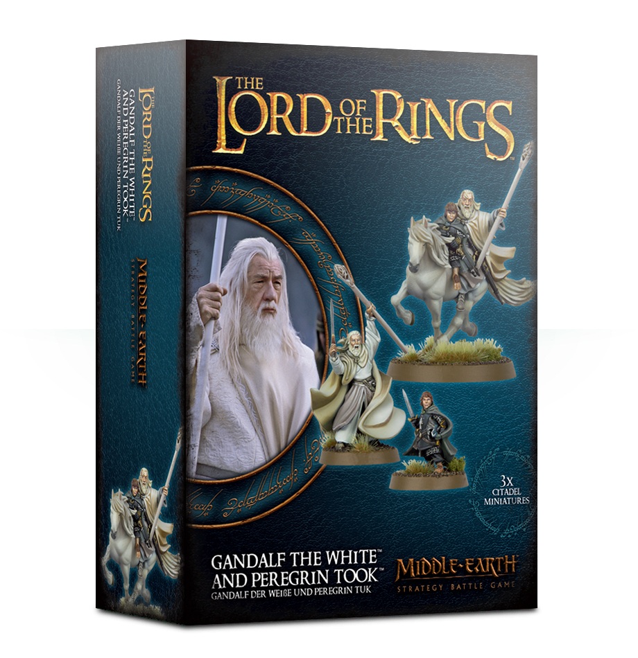 Lord of the Rings: Gandalf The White & Peregrin Took image