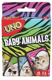 Baby Animals Uno - Card Game