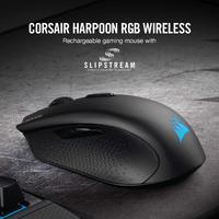 Corsair Harpoon Wireless RGB Rechargeable Optical Gaming Mouse for PC