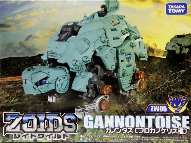 Zoids Wild: ZW05 Gannontoise - Model Kit