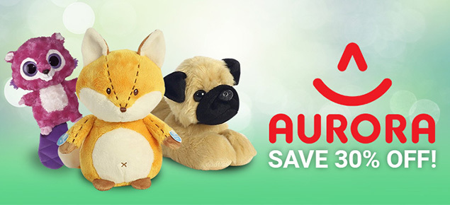 30% off Select Aurora!