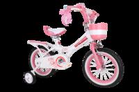 """RoyalBaby: Jenny G-4 - 12"""" Girl's Bike (White)"""