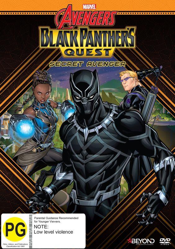 Avengers Assemble: Black Panther's Quest - Secret Avenger on DVD