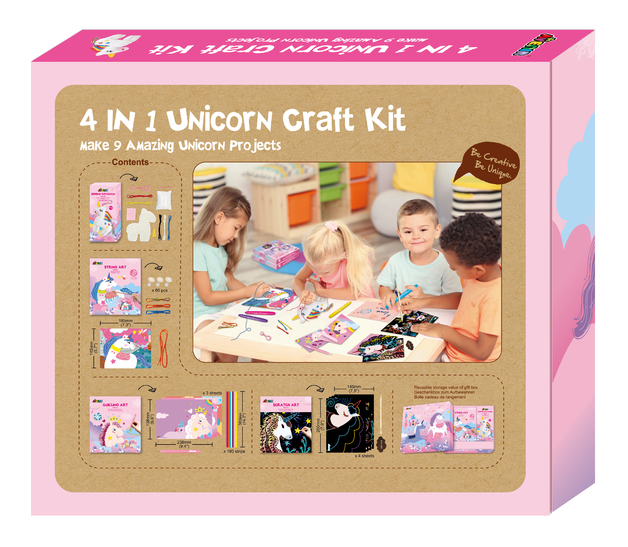 Avenir: 4-In-1 Craft Kit - Unicron