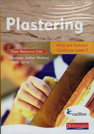 Plastering NVQ and Technical Certificate Level 2 Tutor Resource Disk by Jon Mortimore image