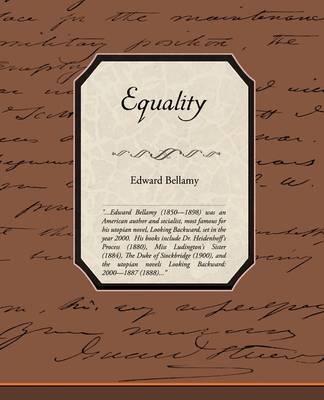 Equality by Edward Bellamy image